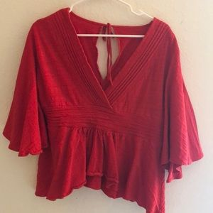 Tops - Red blouse